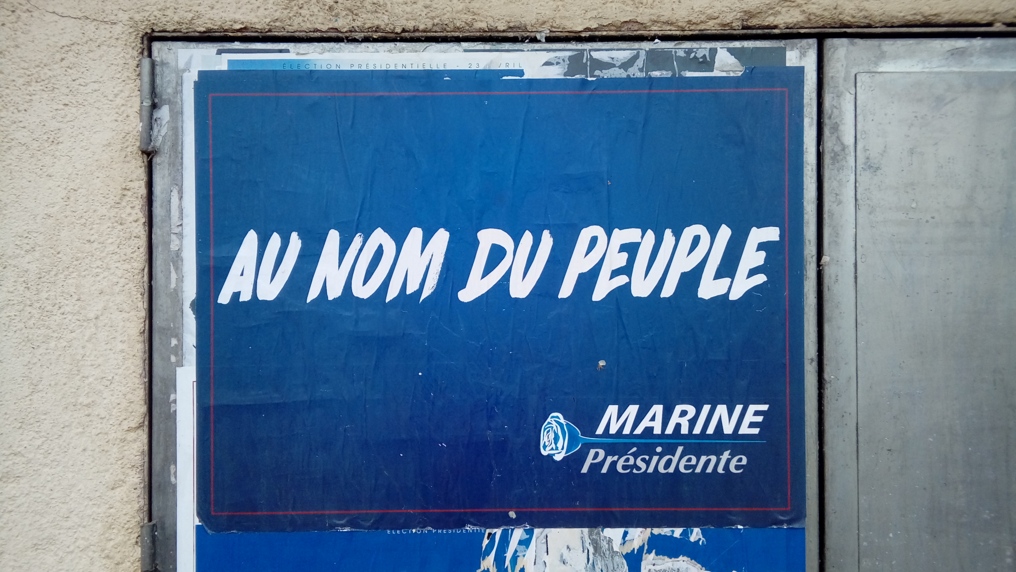 French Elections – Poster Wars